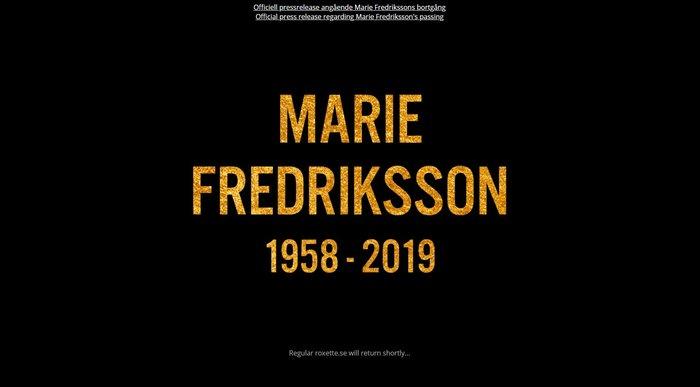 Πέθανε η τραγουδίστρια των Roxette Μαρί Φρέντρικσον - εικόνα 6