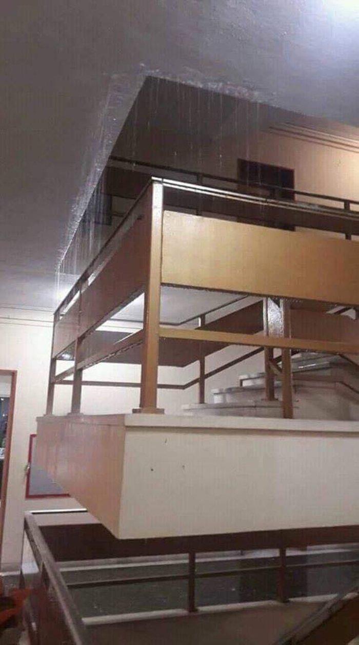 Νεροποντή Λάρισα: Φούσκωσαν ρέματα και πλημμύρισαν τα δικαστήρια - εικόνα 2