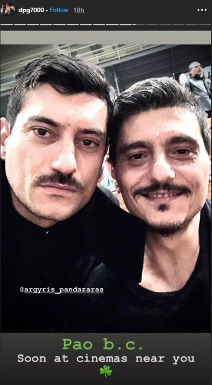 Ο Πανταζάρας έγινε... Δημήτρης Γιαννακόπουλος -Είναι ολόιδιοι [εικόνες]