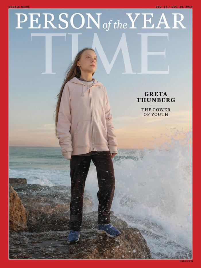 Η Γκρέτα Τούνμπεργκ πρόσωπο της χρονιάς για το περιοδικό TIME