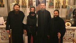 Ο Αρης Σερβετάλης έγινε... Αγιος Νεκτάριος - Ομιλία σε εκκλησία [εικόνες]