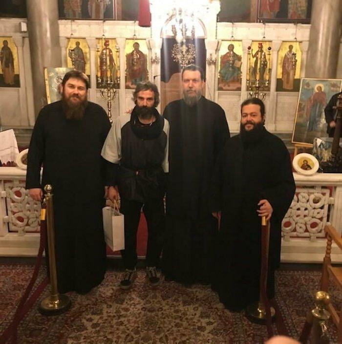 Ο Αρης Σερβετάλης έγινε... Αγιος Νεκτάριος - Ομιλία σε εκκλησία [εικόνες] - εικόνα 2