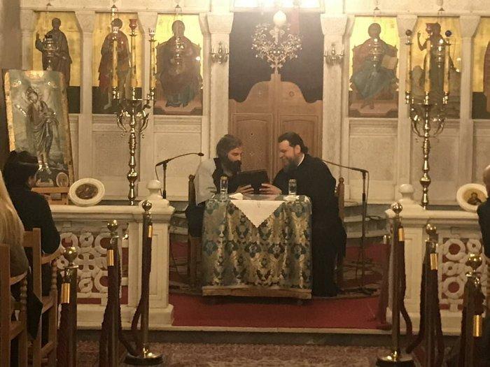 Ο Αρης Σερβετάλης έγινε... Αγιος Νεκτάριος - Ομιλία σε εκκλησία [εικόνες] - εικόνα 3