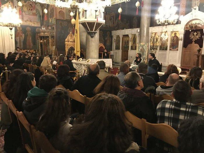 Ο Αρης Σερβετάλης έγινε... Αγιος Νεκτάριος - Ομιλία σε εκκλησία [εικόνες] - εικόνα 5