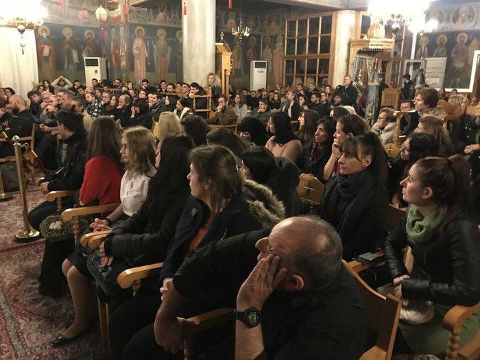 Ο Αρης Σερβετάλης έγινε... Αγιος Νεκτάριος - Ομιλία σε εκκλησία [εικόνες] - εικόνα 6
