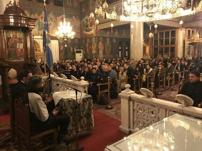 Ο Αρης Σερβετάλης έγινε... Αγιος Νεκτάριος - Ομιλία σε εκκλησία [εικόνες] - εικόνα 7