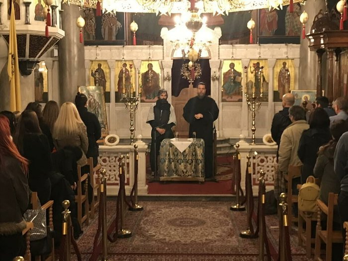 Ο Αρης Σερβετάλης έγινε... Αγιος Νεκτάριος - Ομιλία σε εκκλησία [εικόνες] - εικόνα 8
