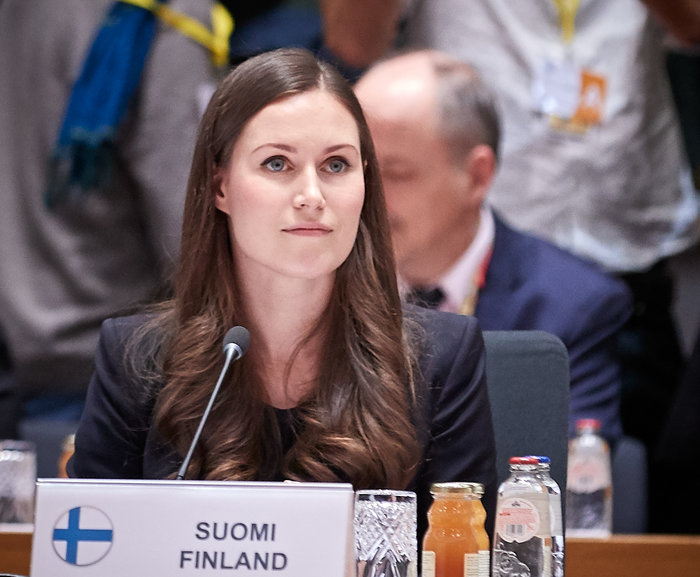 Φρενίτιδα των ΜΜΕ για την νέα πρωθυπουργό της Φινλανδίας - εικόνα 2