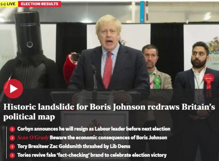 Βρετανικά ΜΜΕ: «Η αυγή της Βρετανίας» ή «εφιάλτης»; [εικόνες] - εικόνα 5