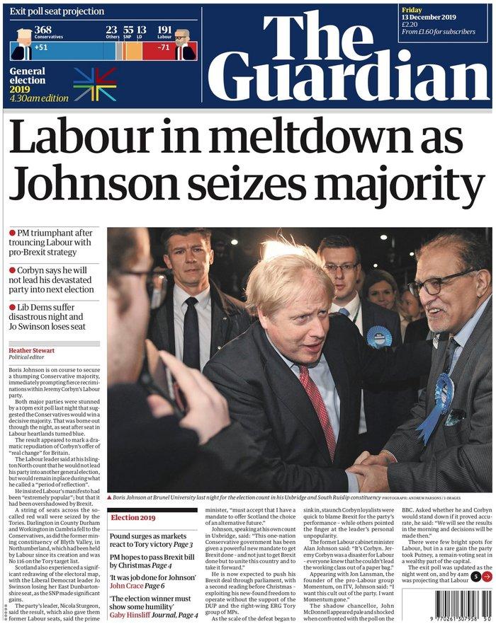 Βρετανικά ΜΜΕ: «Η αυγή της Βρετανίας» ή «εφιάλτης»; [εικόνες]