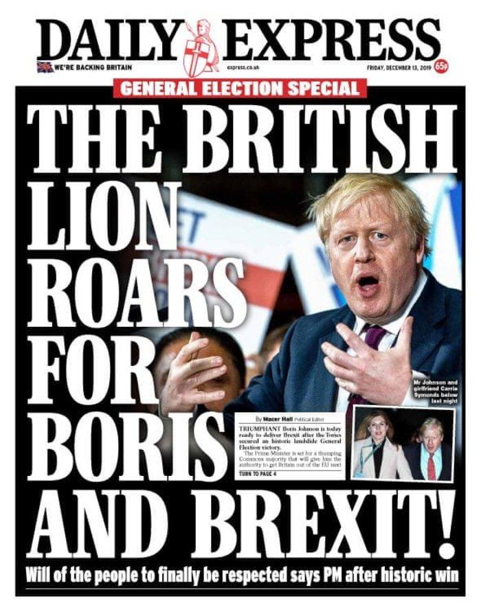 Βρετανικά ΜΜΕ: «Η αυγή της Βρετανίας» ή «εφιάλτης»; [εικόνες] - εικόνα 6