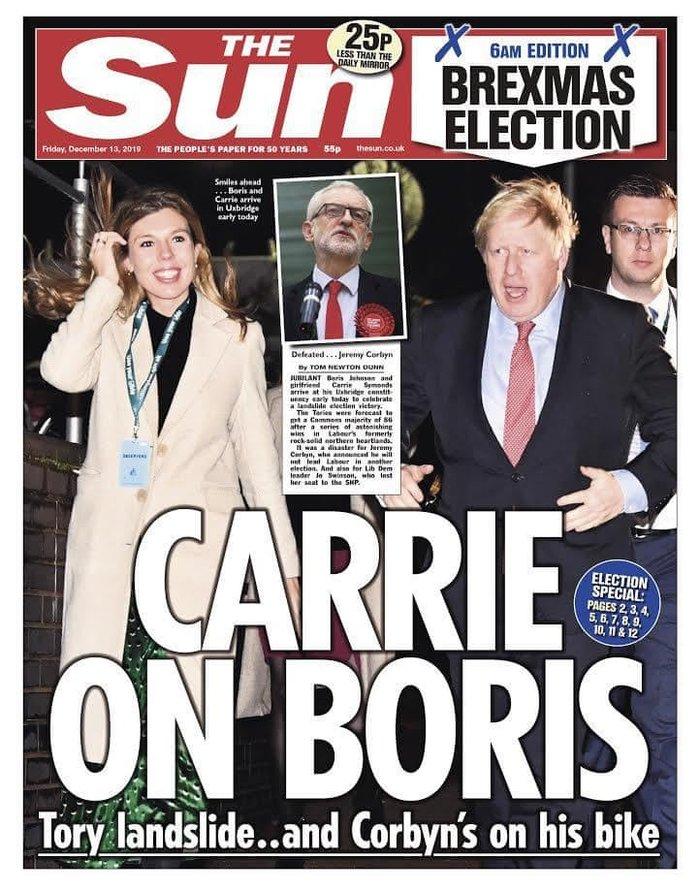 Βρετανικά ΜΜΕ: «Η αυγή της Βρετανίας» ή «εφιάλτης»; [εικόνες] - εικόνα 7