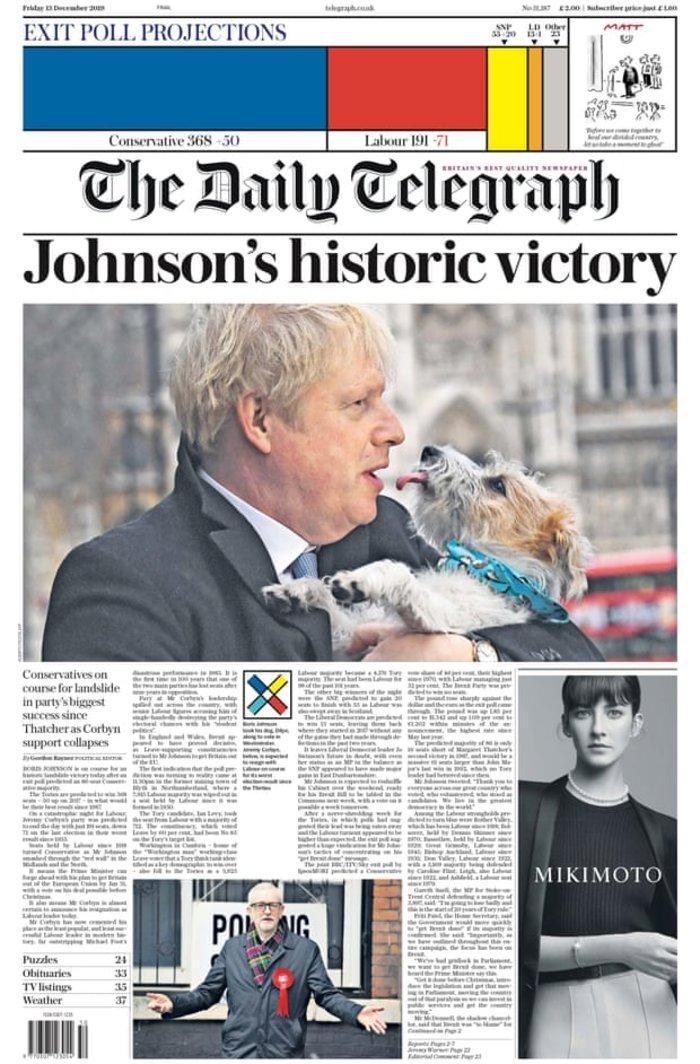 Βρετανικά ΜΜΕ: «Η αυγή της Βρετανίας» ή «εφιάλτης»; [εικόνες] - εικόνα 8