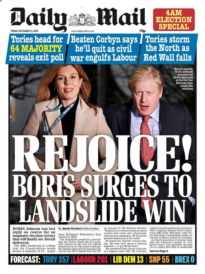 Βρετανικά ΜΜΕ: «Η αυγή της Βρετανίας» ή «εφιάλτης»; [εικόνες] - εικόνα 9