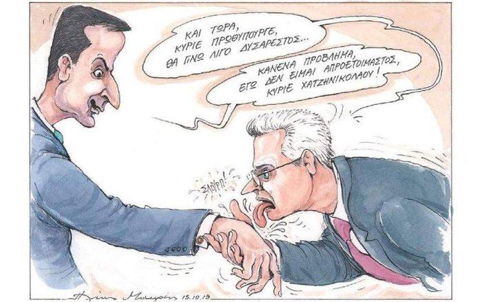 Το σκίτσο που προκάλεσε τον πόλεμο Χατζηνικολάου –Καθημερινής - εικόνα 2