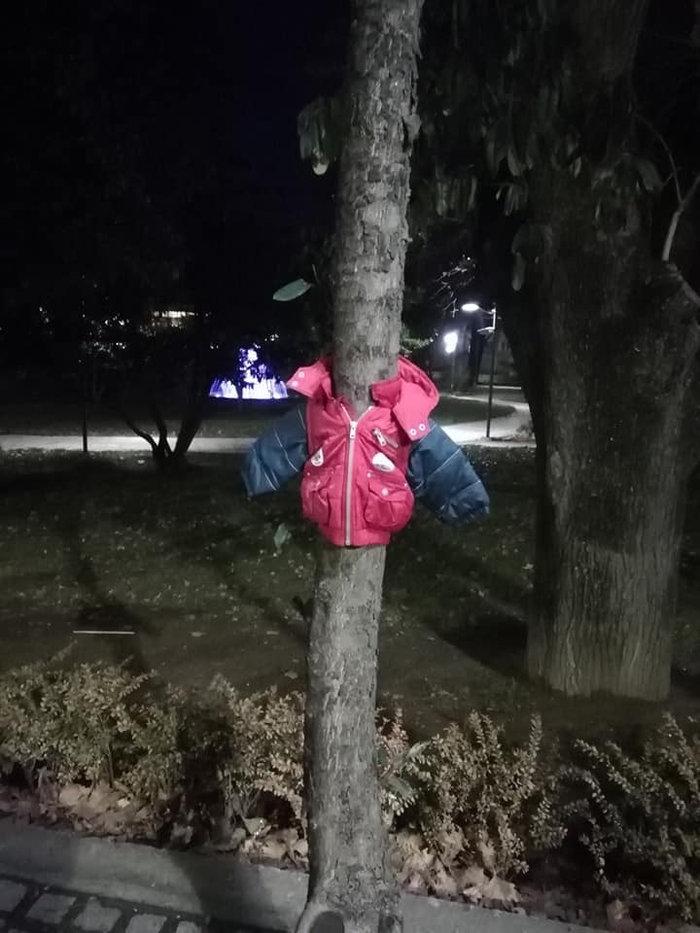 Πρωτοβουλία αγάπης στην Έδεσσα: Μπουφάν στα δέντρα για όσους έχουν ανάγκη - εικόνα 2