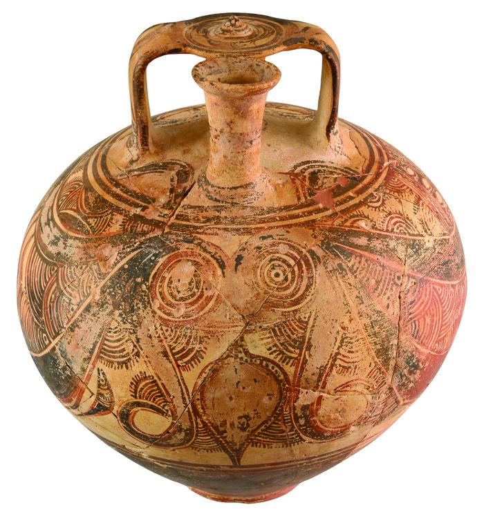 Τήνος και Κυκλάδες στη Μυκηναϊκή εποχή, στο Μουσείο Μπενάκη - εικόνα 2