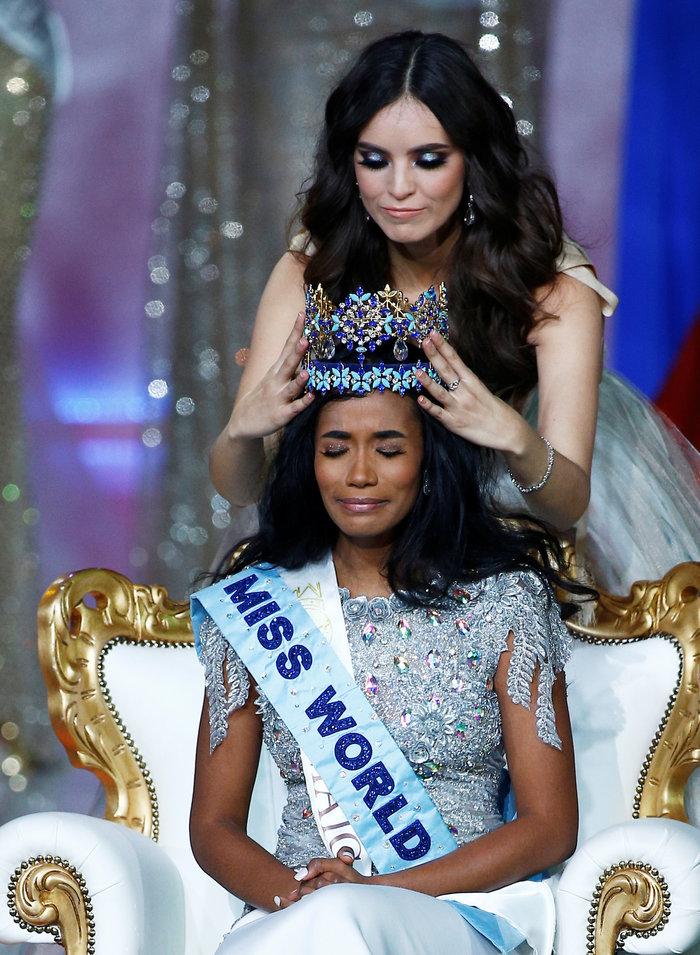 Τζαμακαϊνή και φεμινίστρια η νέα εντυπωσιακή Μις Κόσμος - εικόνα 2