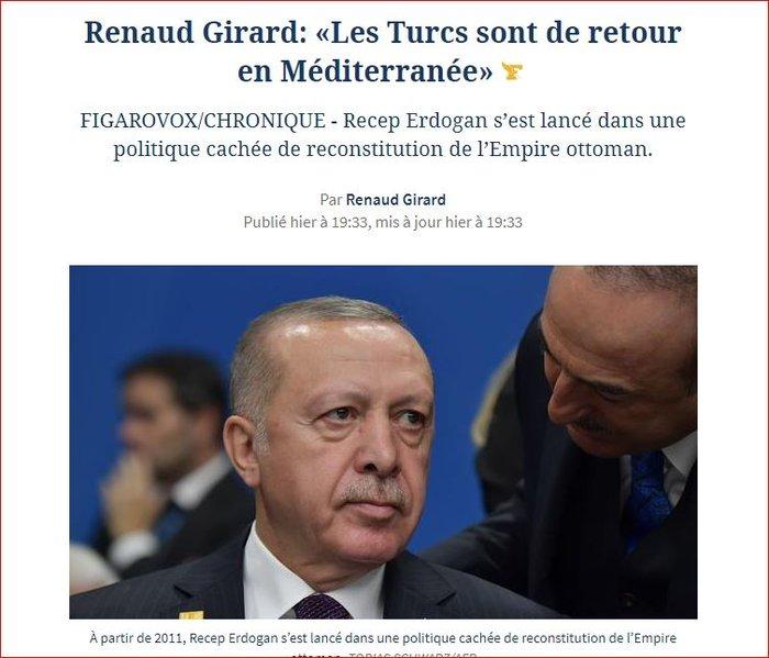 Le Figaro: Ο Ερντογάν θέλει ανασύσταση της Οθωμανικής Αυτοκρατορίας