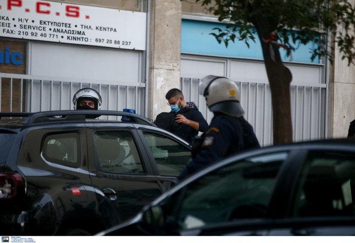 Καρέ καρέ οι εκκενώσεις καταλήψεων στο Κουκάκι [εικόνες & βίντεο]