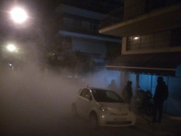 Καρέ καρέ οι εκκενώσεις καταλήψεων στο Κουκάκι [εικόνες & βίντεο] - εικόνα 16