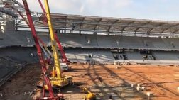 Το νέο γήπεδο της ΑΕΚ στο... πιάτο σας [βίντεο]