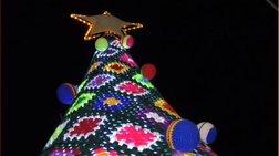 Ενα εντυπωσιακό δέντρο στην Ζάκυνθο: Είναι όλο πλεκτό!