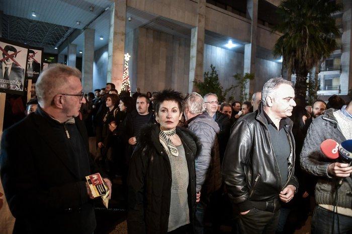Ο ΣΥΡΙΖΑ έξω απο τη ΓΑΔΑ ενάντια στην αστυνομική βία