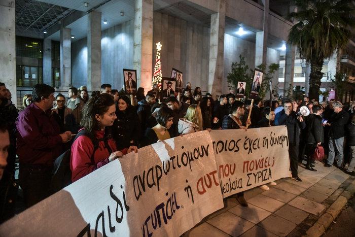 Ο ΣΥΡΙΖΑ έξω απο τη ΓΑΔΑ ενάντια στην αστυνομική βία - εικόνα 5