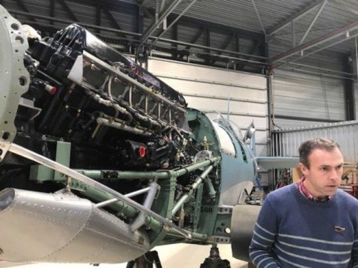 Επιστρέφει το ιστορικό Supermarine Spitfire MJ755 της ΠΑ - εικόνα 2