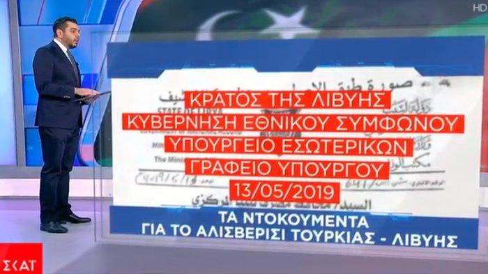 Εγγραφα - ντοκουμέντα για τις συναλλαγές Λιβύης - Τουρκίας