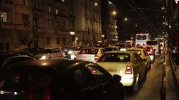 Μποτιλιάρισμα στον Κηφισό, μεγάλη κίνηση στο κέντρο της Αθήνας