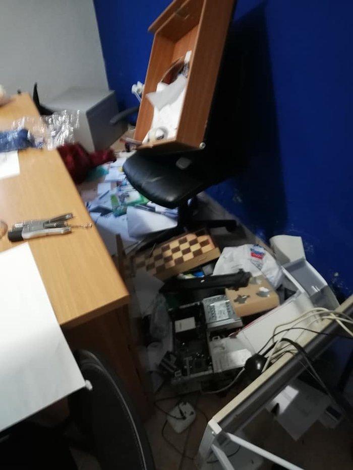 Επίθεση αντιεξουσιαστών στα γραφεία της ΝΔ στο Χαϊδάρι - εικόνα 2
