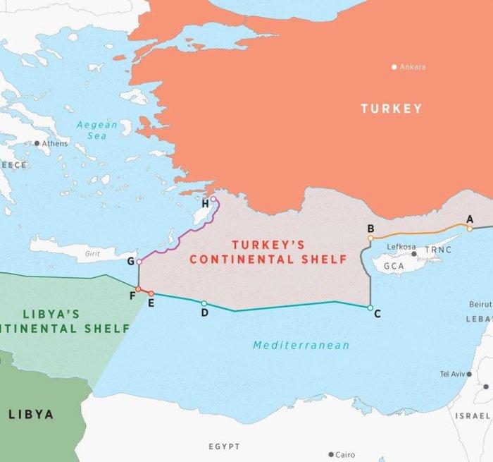Η Τουρκία τραβά το σκοινί στα άκρα: Νέοι χάρτες