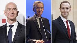 Οι 10 δισεκατομμυριούχοι με τα μεγαλύτερα κέρδη στη δεκαετία
