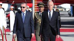 Αιφνιδιαστικά στην Τυνησία ο Ερντογάν - Συμφωνίες για Μεσόγειο