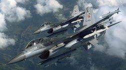 Παραβιάσεις από τουρκικά F-16 ανήμερα τα Χριστούγεννα