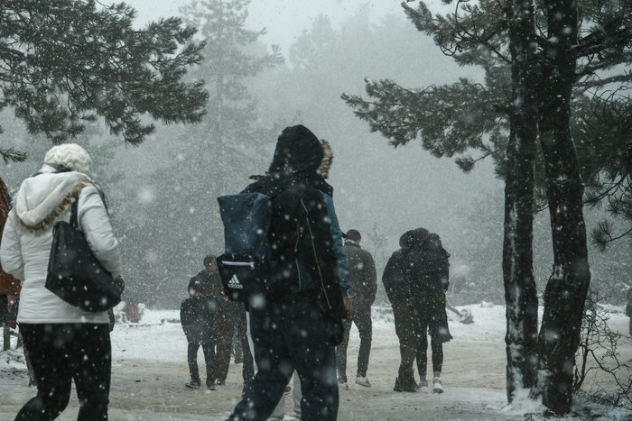 Η «Ζηνοβία» φέρνει κρύο, χιόνια και παγετό - Πολικό το ψύχος