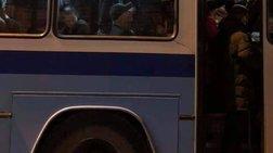 """Επιβάτες λεωφορείου """"στον αέρα"""" στη Θεσσαλονίκη"""