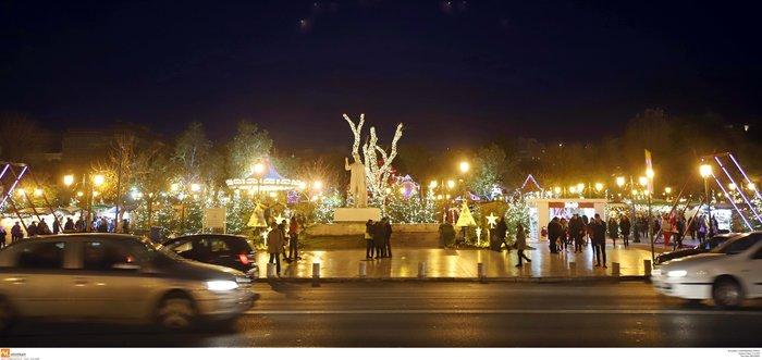 Κέντρο Θεσσαλονίκης: Εντυπωσιακός ο γιορτινός στολισμός - εικόνα 6