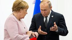 Επικοινωνία Πούτιν-Μέρκελ για Λιβύη και Nord Stream 2