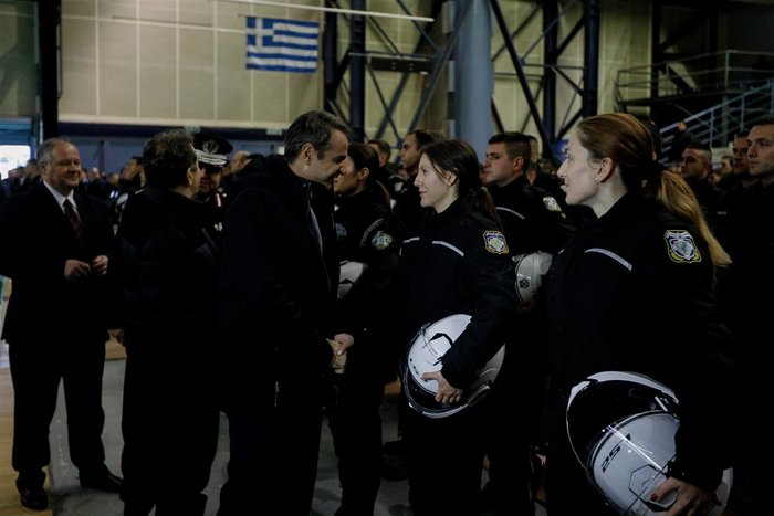 Ο Μητσοτάκης στη νέα ομάδα ΔΙΑΣ: Περισσότερη προστασία στις γειτονιές - εικόνα 8