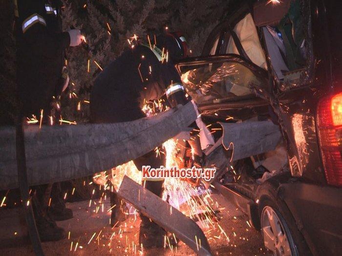 Τραγικό τροχαίο με νεκρό - Φορτηγό καρφώθηκε σε σταματημένο Ι.Χ