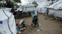 Ένταση στη Μόρια: 200 μετανάστες έκλεισαν τον δρόμο