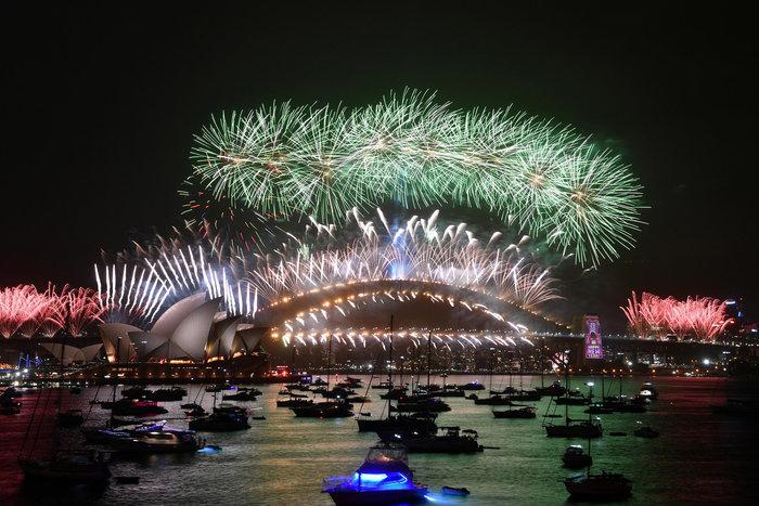 Φαντασμαγορική εκδήλωση στο Σίδνεϊ εν μέσω δυσαρέσκειας για τις πυρκαγιές - εικόνα 7