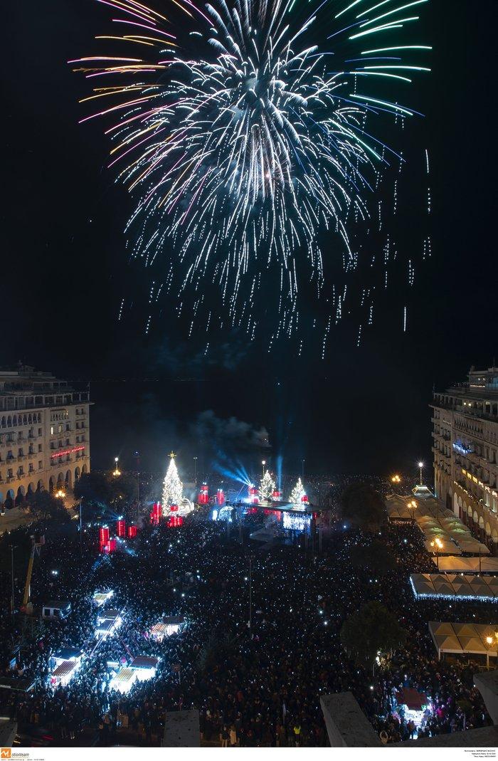 Πρωτοχρονιά 2020: Υπερθέαμα με πυροτεχνήματα Φουρέιρα & βιολιά στη Θεσ/νίκη - εικόνα 2