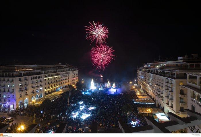 Πρωτοχρονιά 2020: Υπερθέαμα με πυροτεχνήματα Φουρέιρα & βιολιά στη Θεσ/νίκη - εικόνα 3