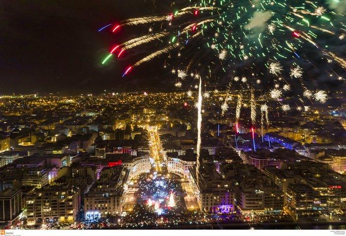 Πρωτοχρονιά 2020: Υπερθέαμα με πυροτεχνήματα Φουρέιρα & βιολιά στη Θεσ/νίκη - εικόνα 5