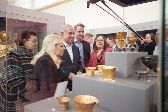 Μητσοτάκης-Νετανιάχου στο Αρχαιολογικό Μουσείο - εικόνα 2