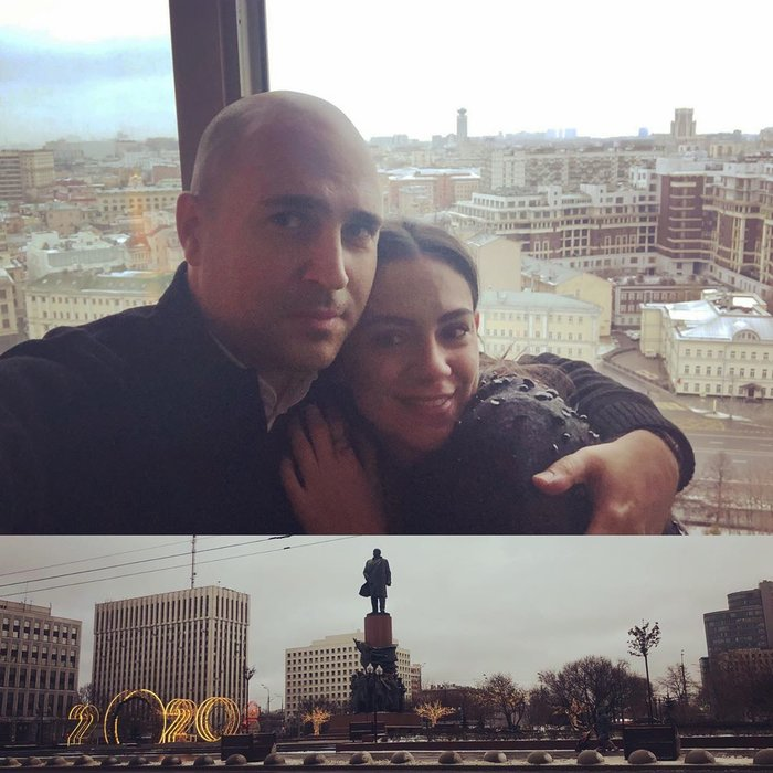 Μπογδάνος: Διακοπές στη χιονισμένη Μόσχα με τη γυναίκα του